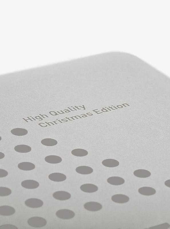 Lunchbox Silber Veredelung Lasergravur