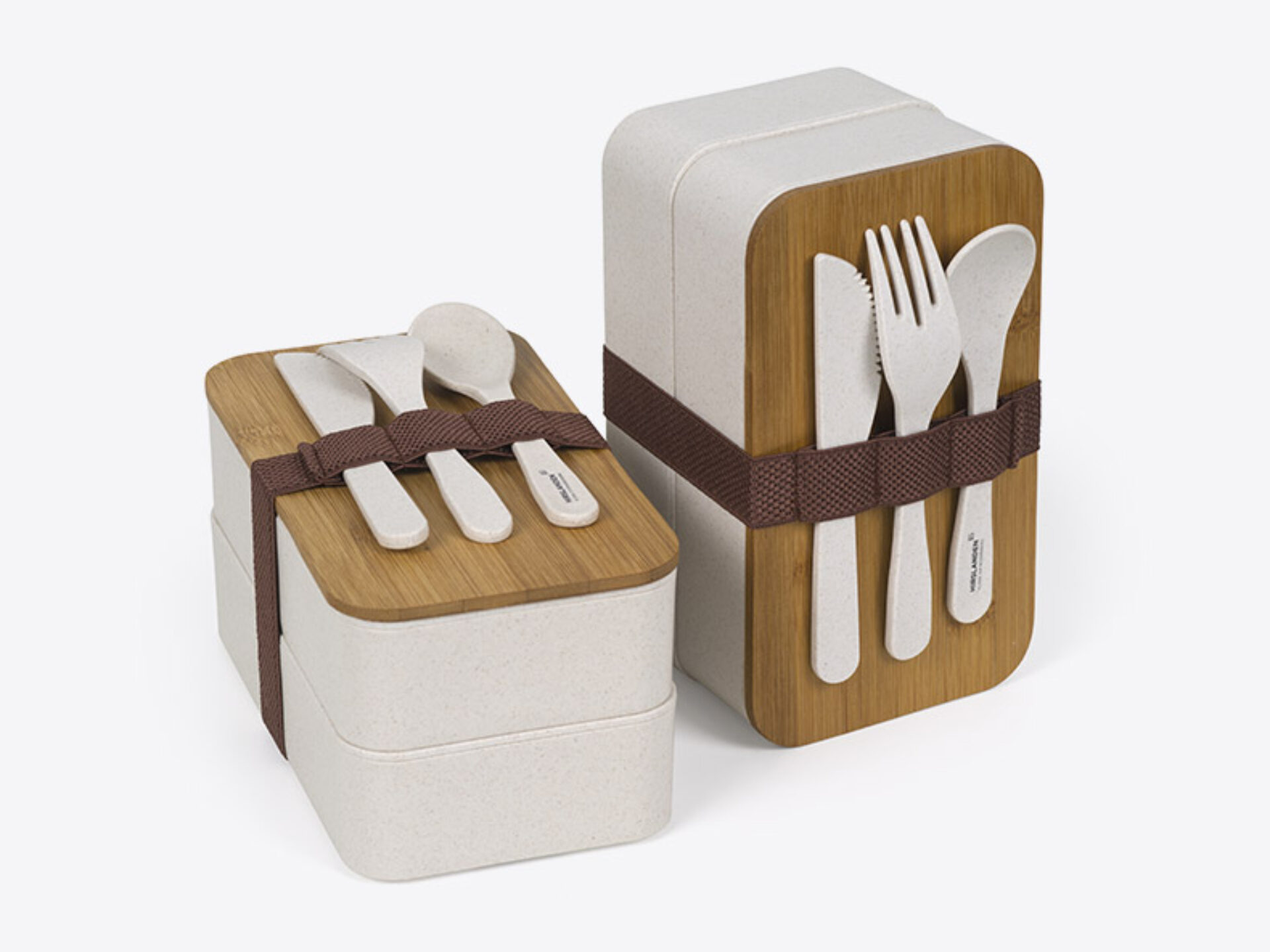 Lunchboxen Hirslanden Spital Bambus