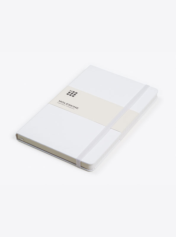 Moleskine Notizbuch Mit Logo Bedrucken Weiss