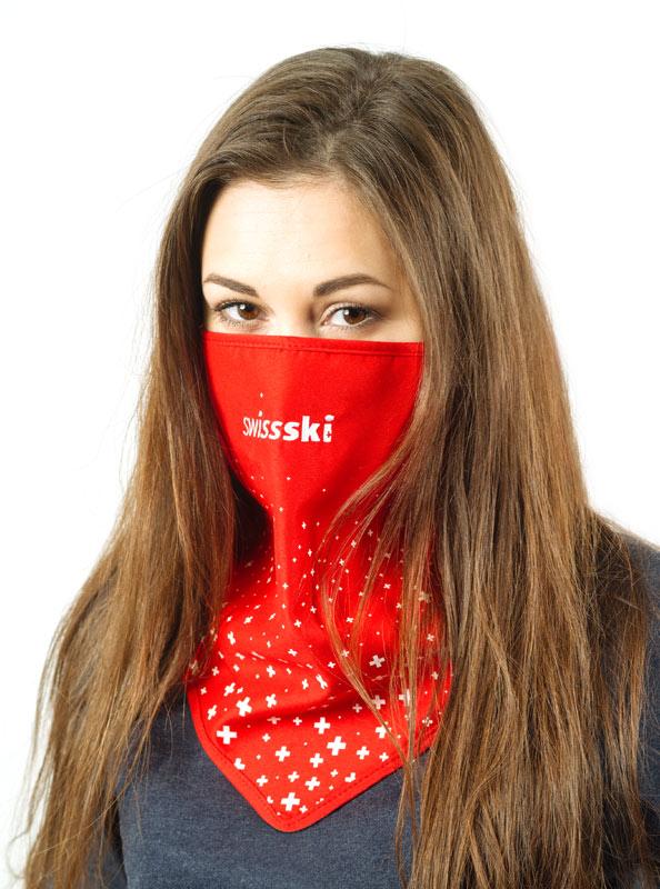 Necktube Fleece Mit Logo Bedruckt Swiss Ski