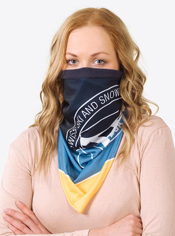 Necktube Halstuch Fleece Mit Logo Bedrucken