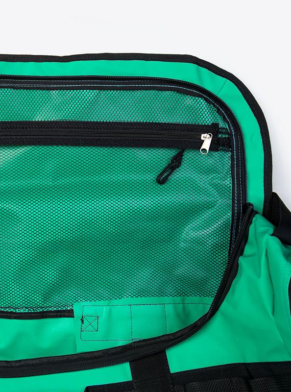 Outdoor Bag Aus Blachenmaterial Mit Logo Bedrucken