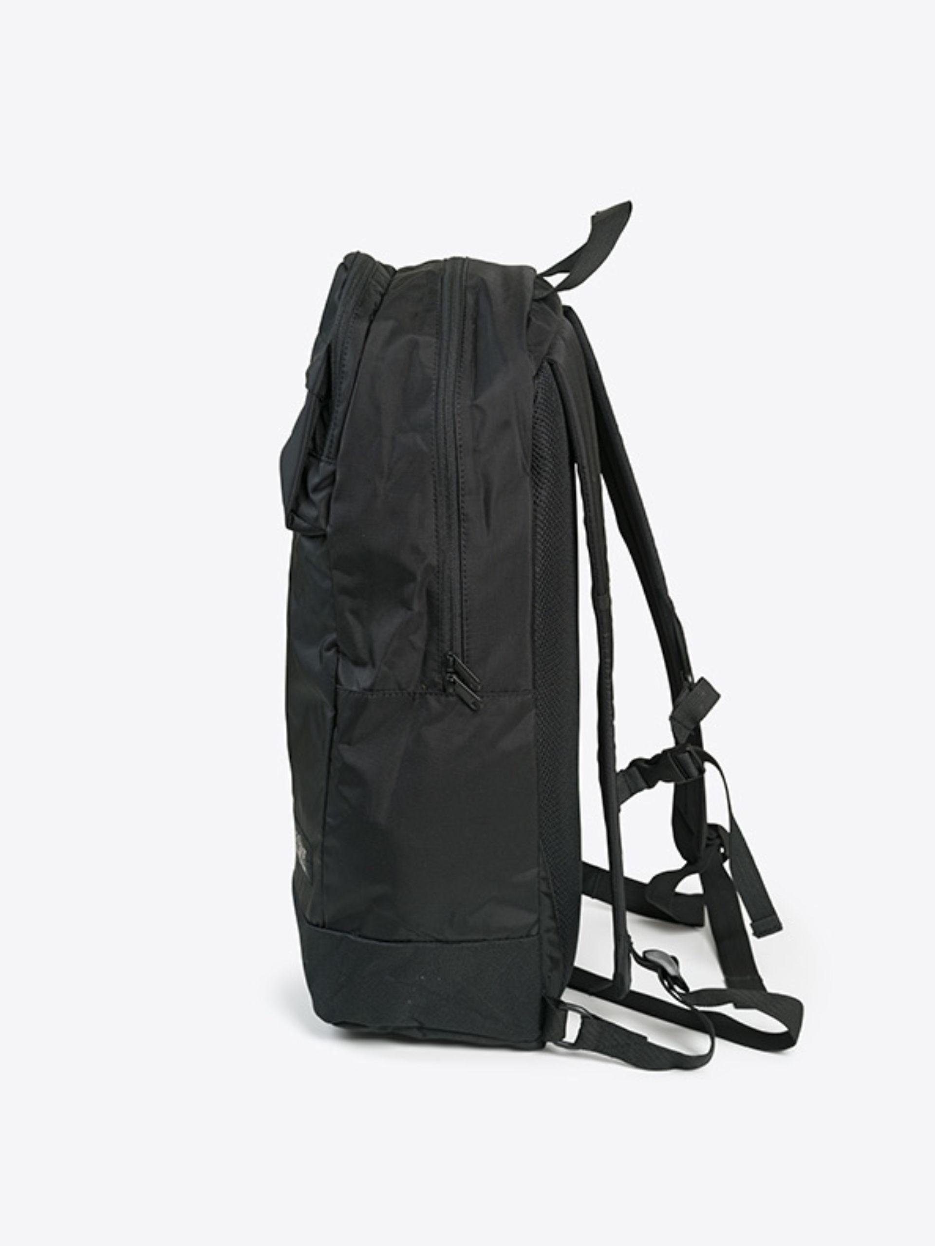 Outdoor Rucksack schwarz mit Logo bedruckt