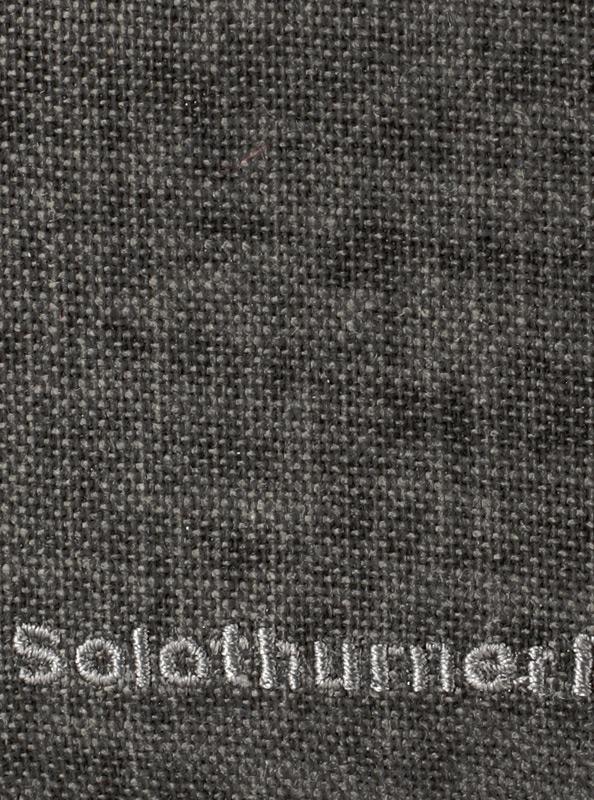 Portemonnaie bestickt mit Schriftzug