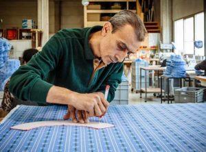 Produktion Wanderhut Migros Swiss Made