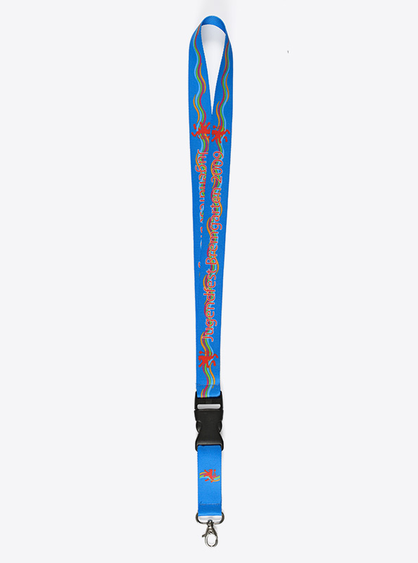 Schluesselband Lanyard Bedrucken 387 Polyester Light Digitaldruck Bremgarten