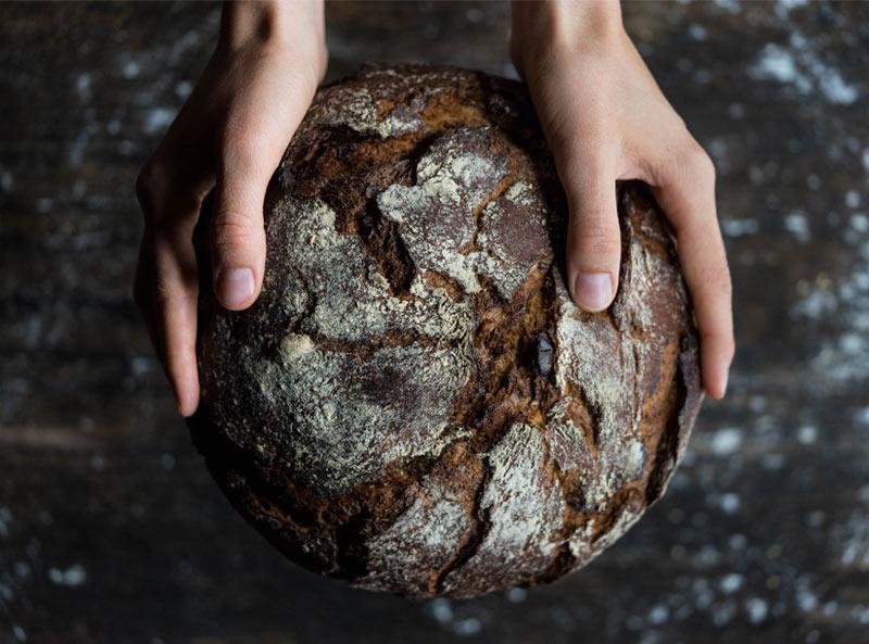 Schweizer Brot Brotsack Bedrucken