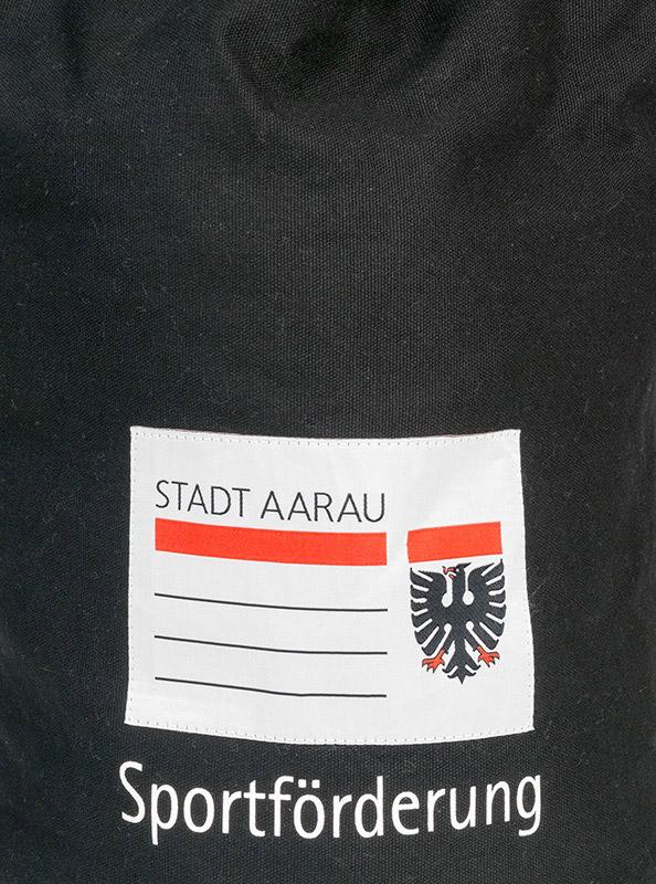Seesack Mit Stoff Etikette