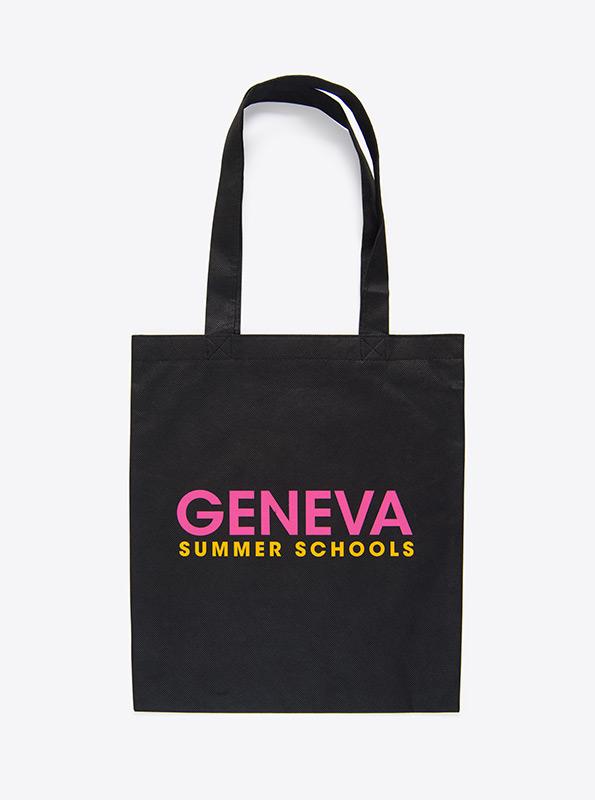 Shopper Tasche Aus Vlies Bedrucken Geneve