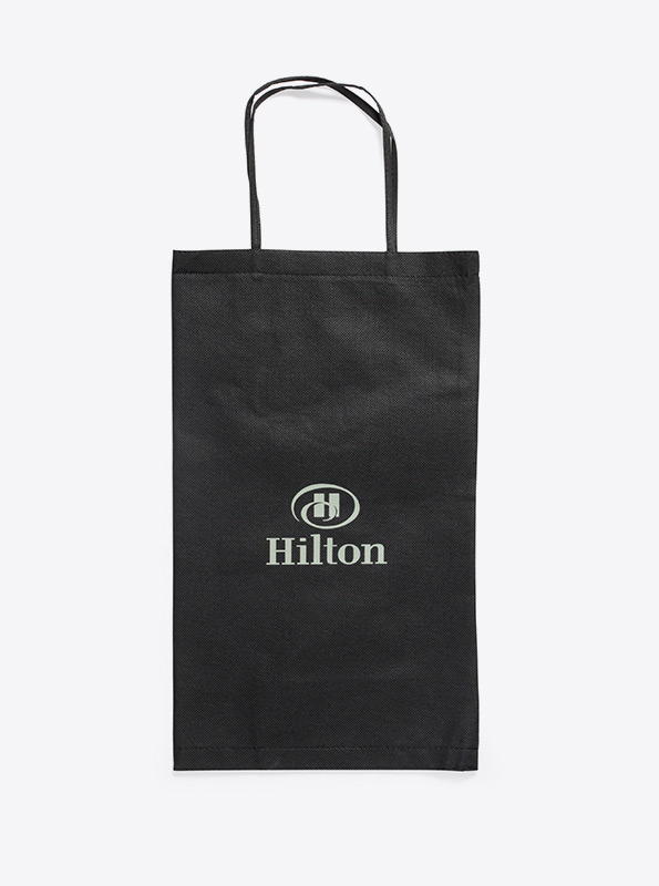 Shopper Tasche Aus Vlies Bedrucken Hilton