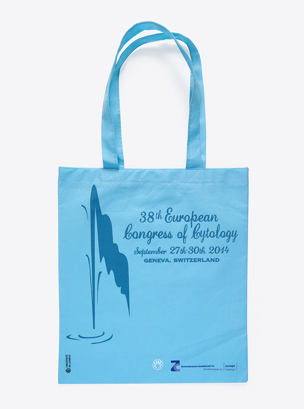 Shopper Tasche Aus Vlies Bedrucken Uni Genf