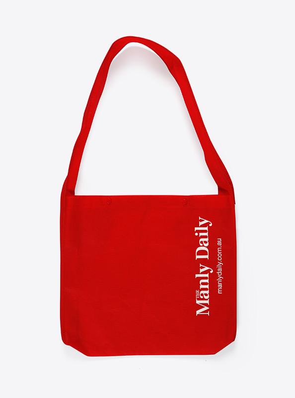 Side Bag Bedrucken Mit Logo Rot