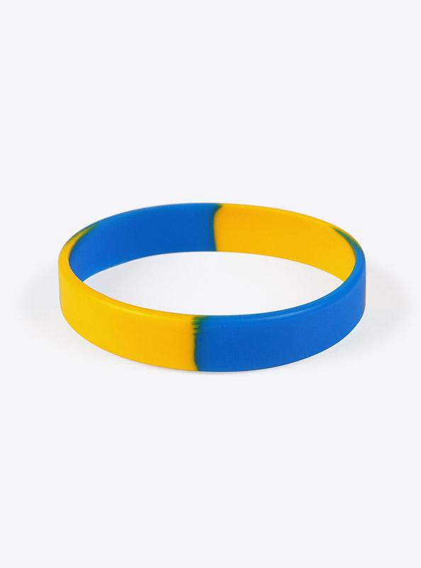 Silikon Armband Bedruckt Blue