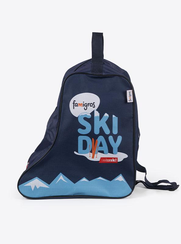 Skischuhtasche Mit Logo Bedrucken Swissski Famigros