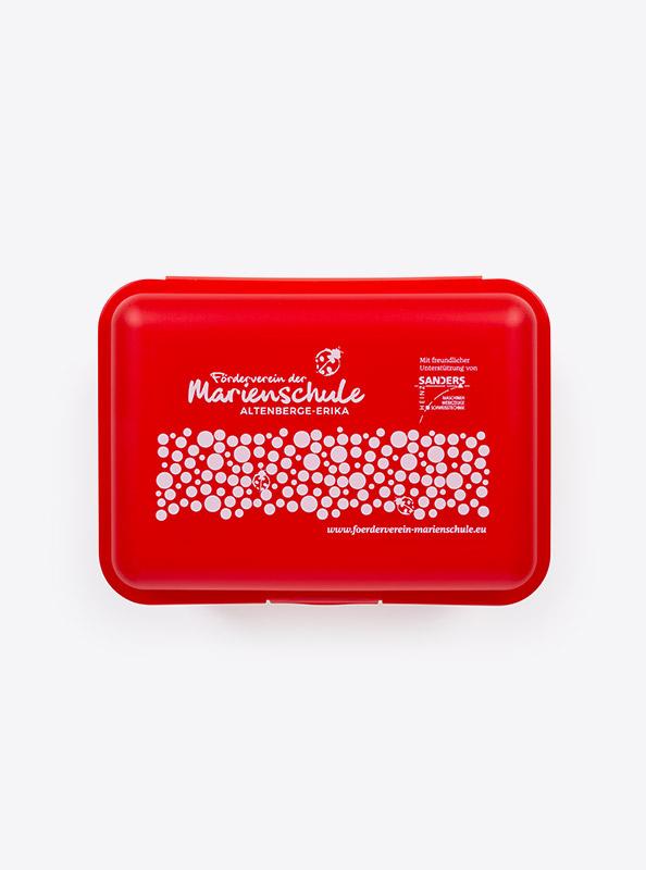 Snackbox Budget Mit Logo Motiv Bedrucken Klickverschluss