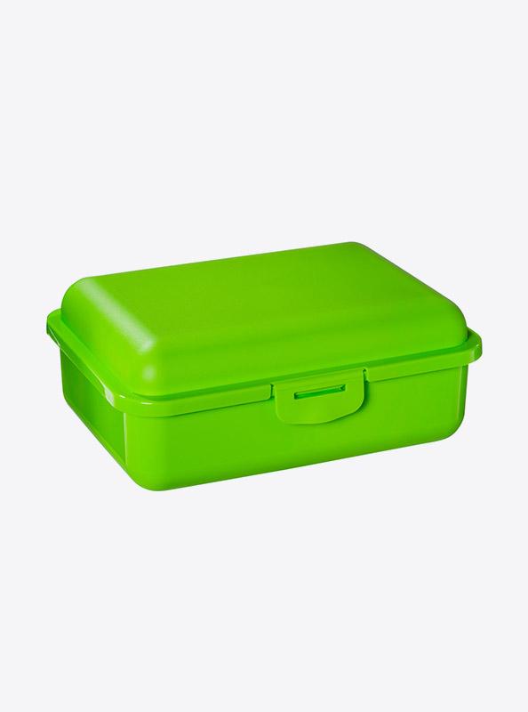 Snackbox Lunchbox Budget Mit Logo Motiv Bedrucken Schweiz Lime Gruen