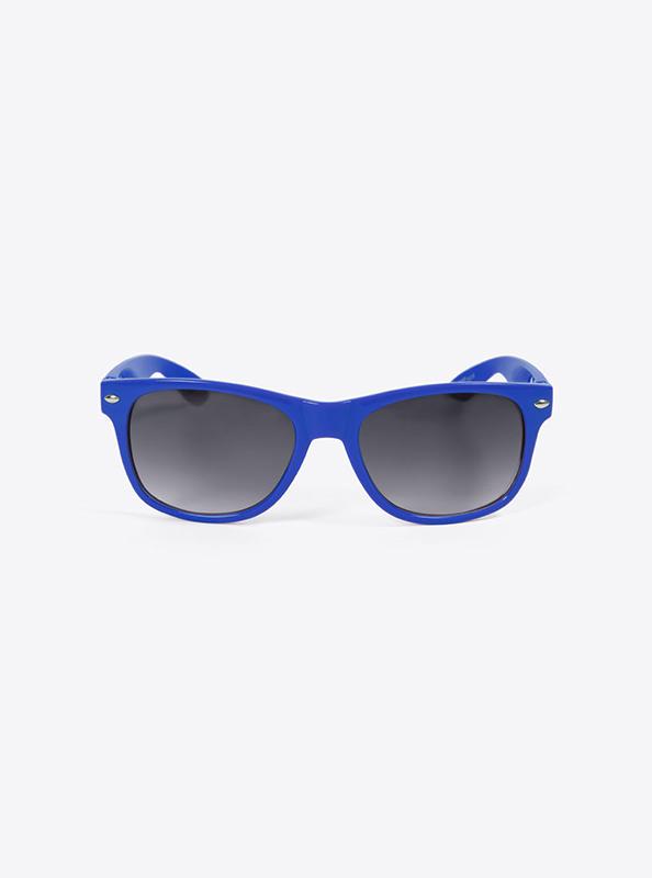 Sonnenbrille Budget Blau Mit Logo Bedrucken
