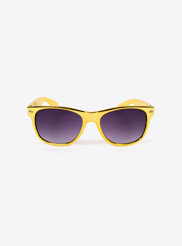 Sonnenbrille Budget Gold Mit Logo Bedrucken