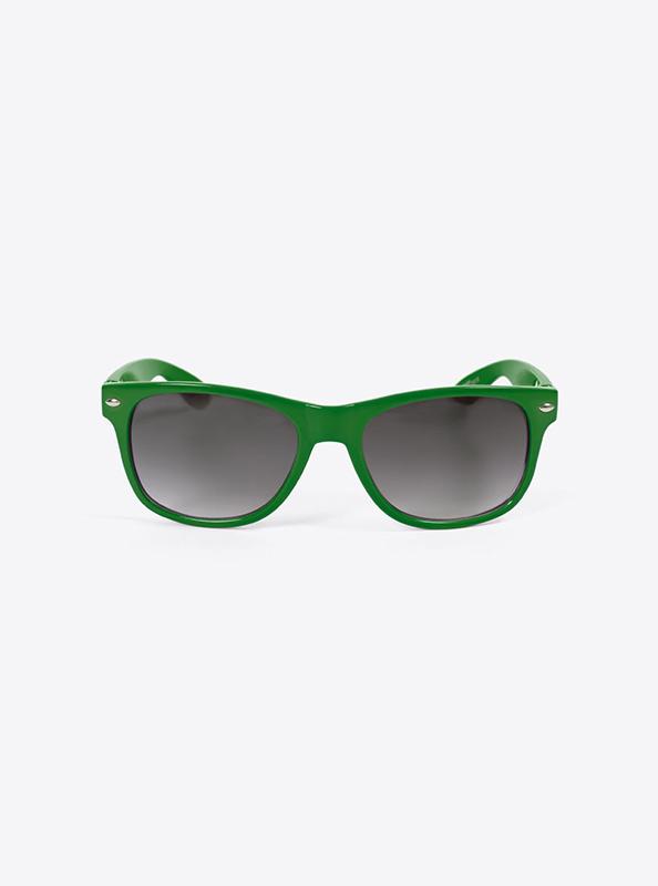 Sonnenbrille Budget Gruen Mit Logo Bedrucken