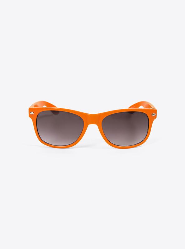 Sonnenbrille Budget Orange Mit Logo Bedrucken