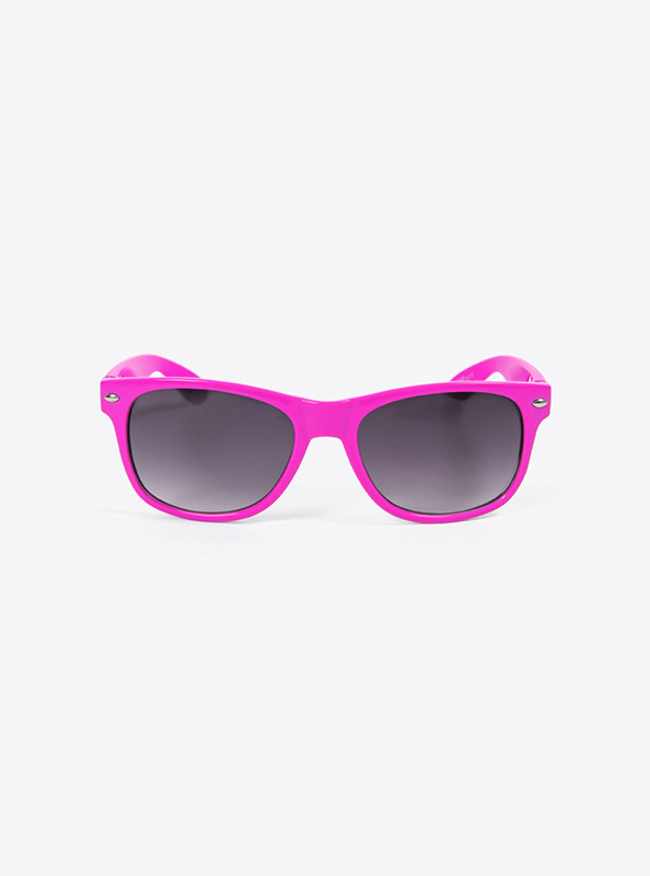 Sonnenbrille Budget Pink Mit Logo Bedrucken