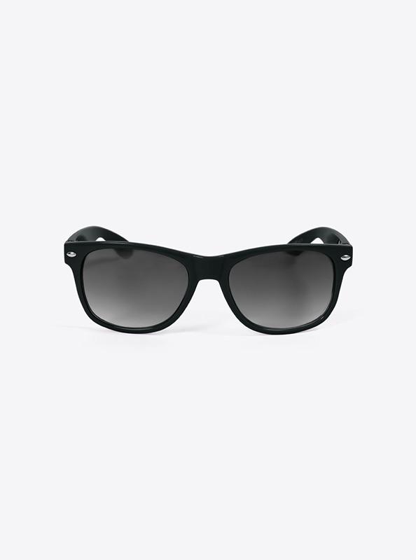 Sonnenbrille Budget Schwarz Mit Logo Bedrucken