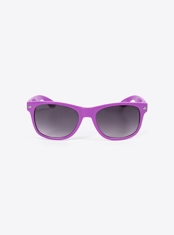 Sonnenbrille Lila Budget Mit Logo Bedrucken
