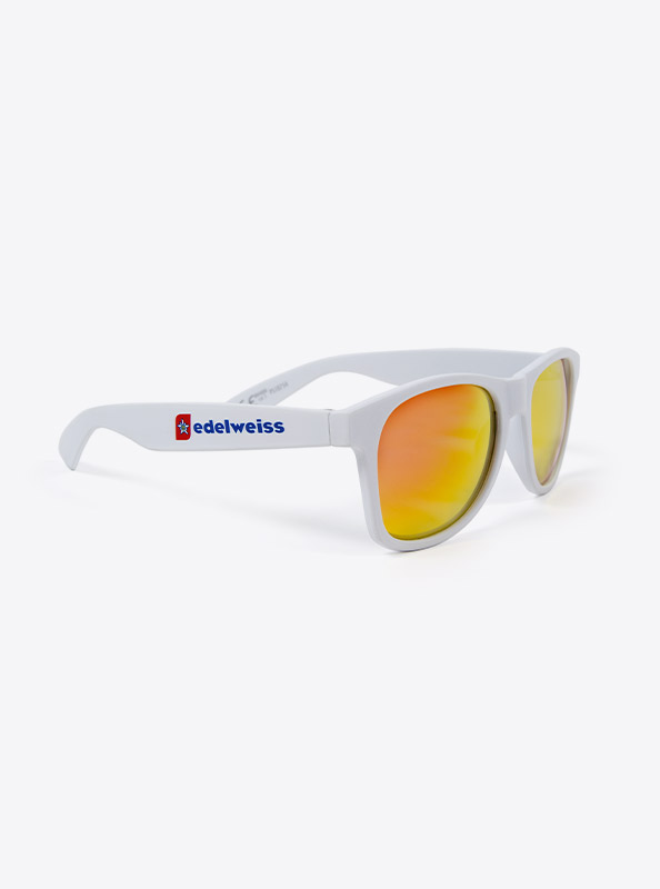 Sonnenbrille Promotion Screenprinted Logo Edelweiss