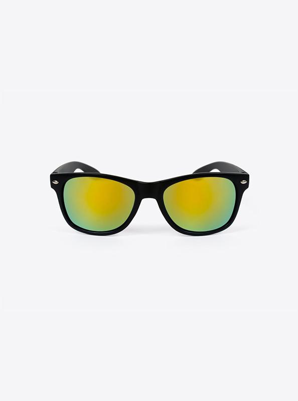 Sonnenbrille Schwarz Budget Mit Logo Bedrucken