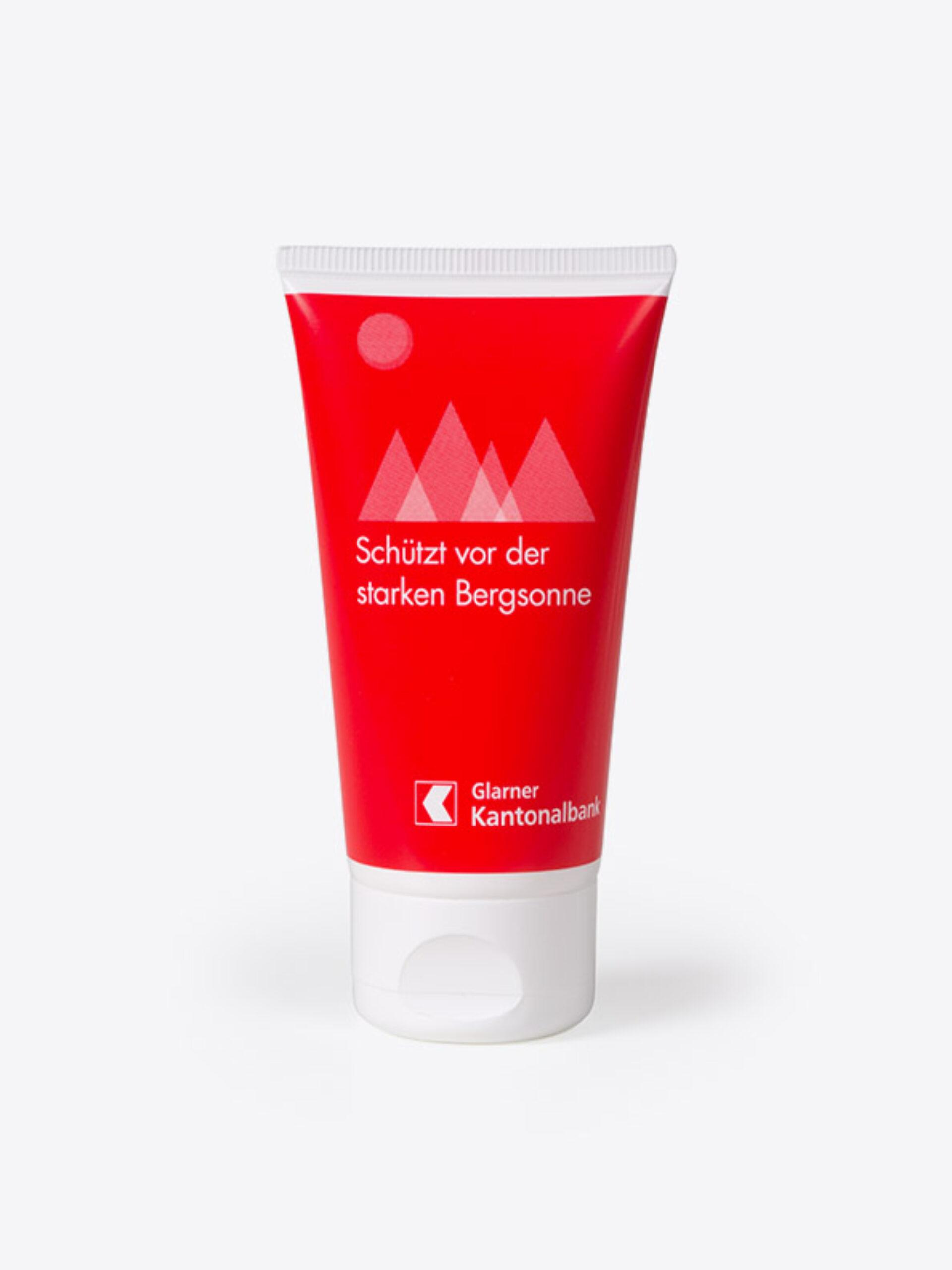 Sonnencreme Nanofrei Mit Logo Bedrucken Front