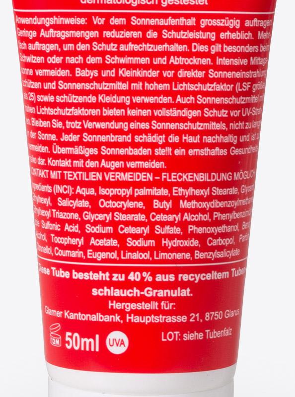 Sonnencreme Nanofrei Mit Logo Bedrucken Inhalt