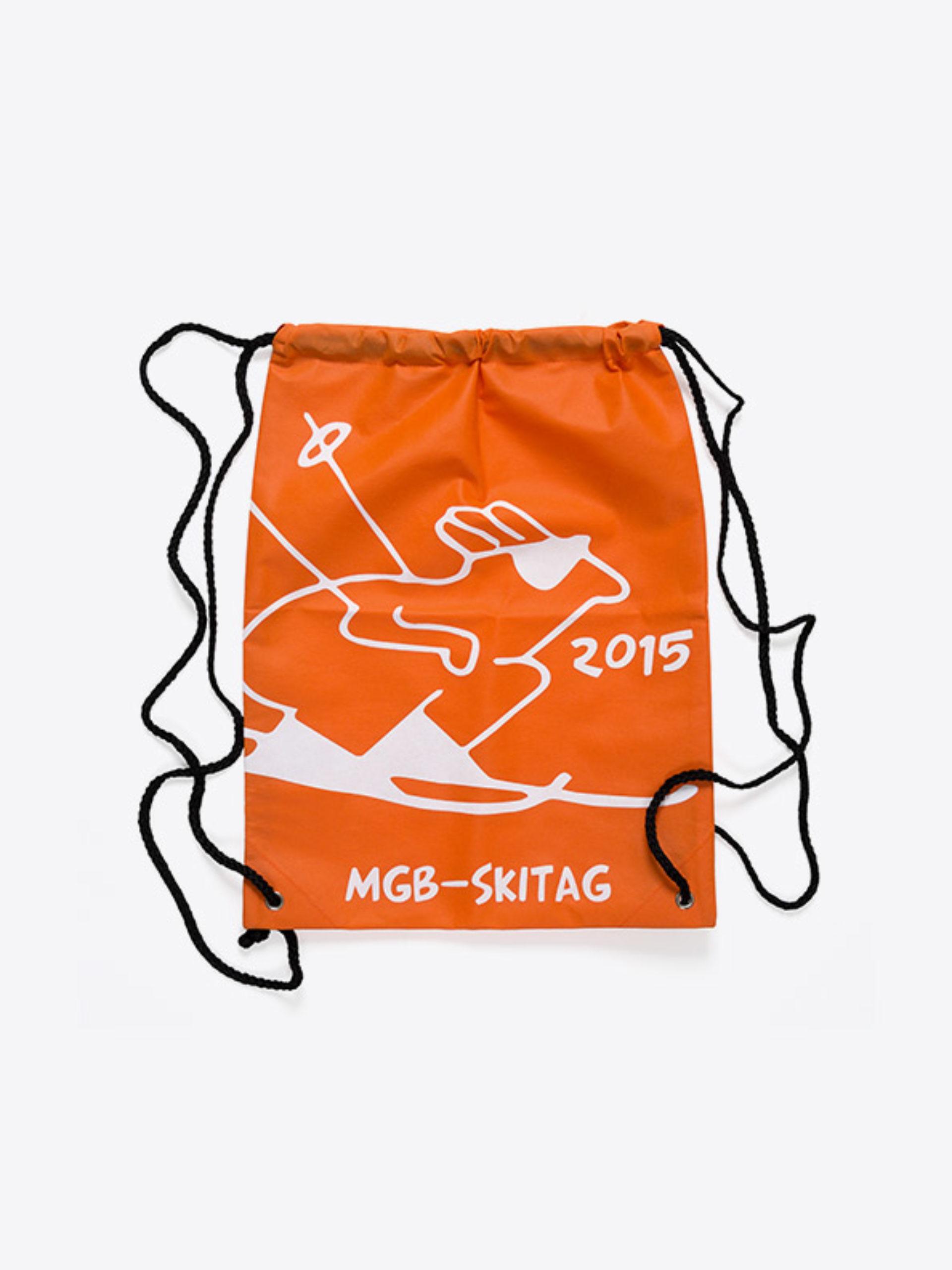 Sportsack Gym Bag Vlies Bedruckt