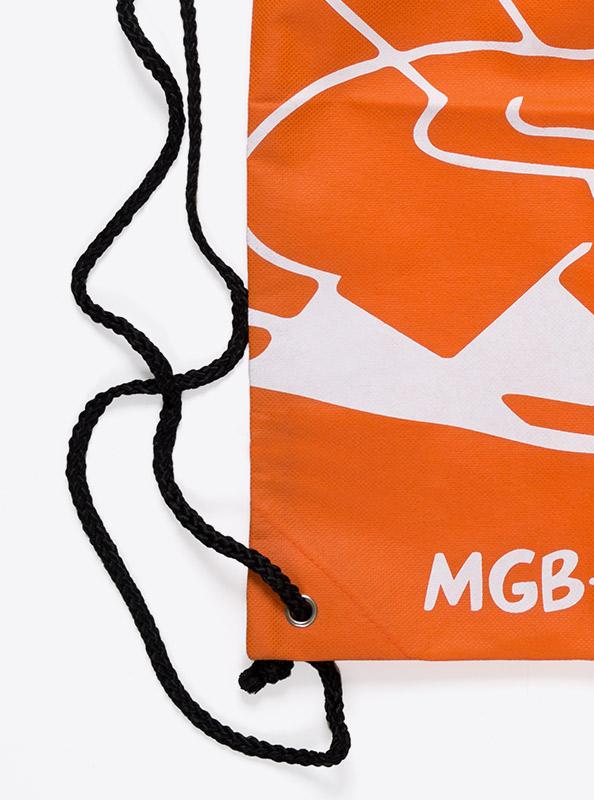 Sportsack Gym Bag Vlies Bedruckt Kordel