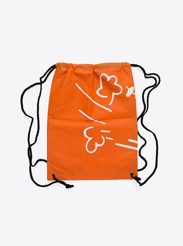 Sportsack Gym Bag Vlies Bedruckt Mit Logo