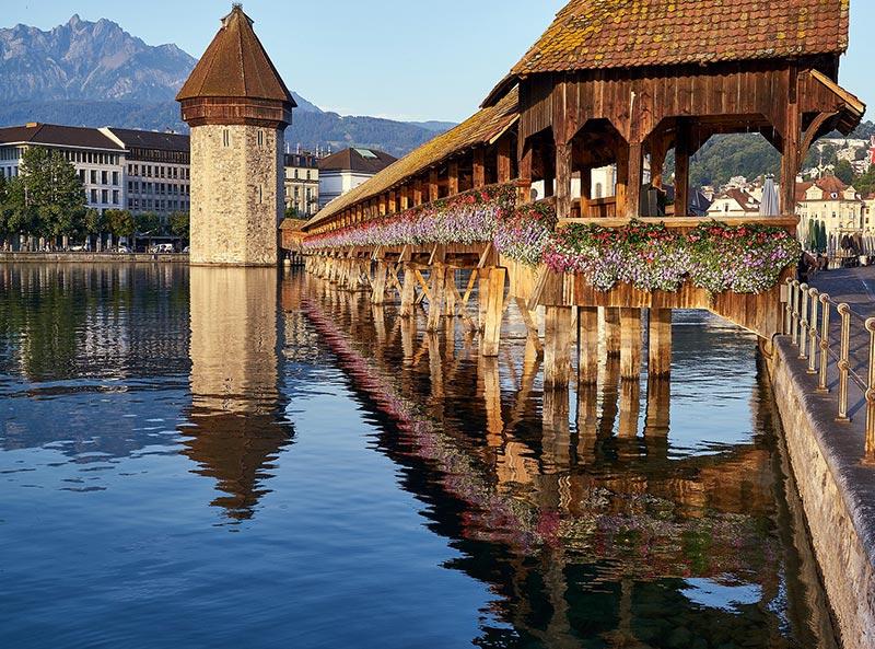 Stadt Luzern Kappeler Brücke