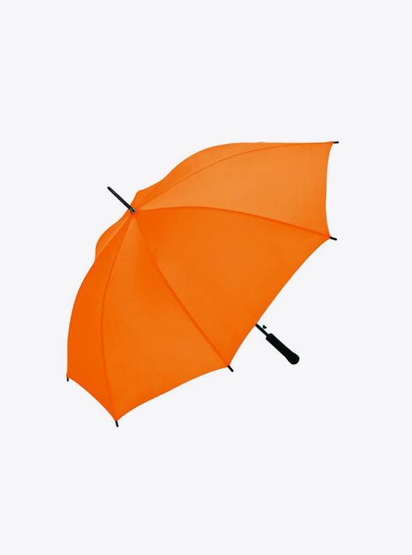 Stockschirm Budget 1192 Bedrucken Farbe Orange