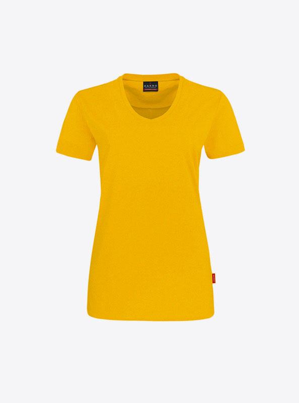 T Shirt Fuer Damen Bedrucken Lassen Hakro 181 Sonne