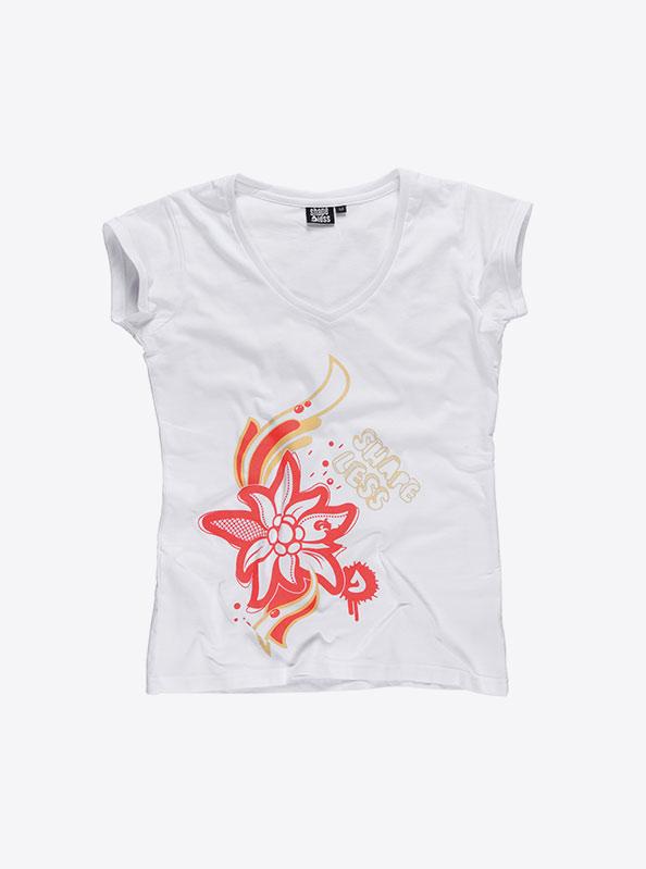 T-Shirts Damen Kurzarm Logo Verein Drucken