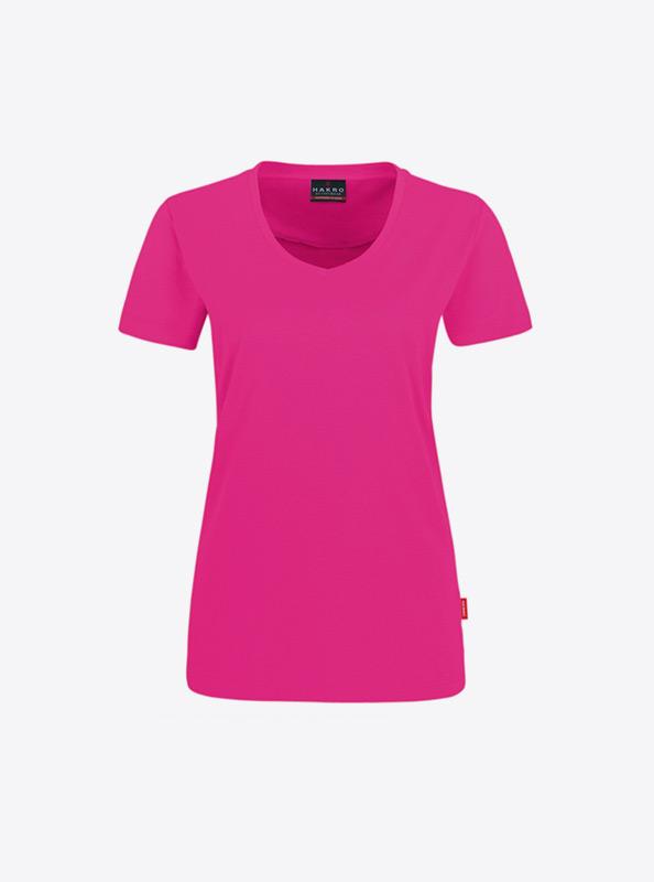 T Shirts Damen Mit Siebdruck Drucken Lassen In Schweiz Hakro 181 Magenta