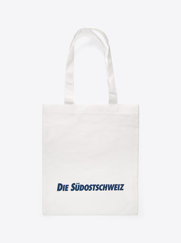 Tasche Mit Werbung Bedrucken Aus Vlies Shopper Suedost Schweiz