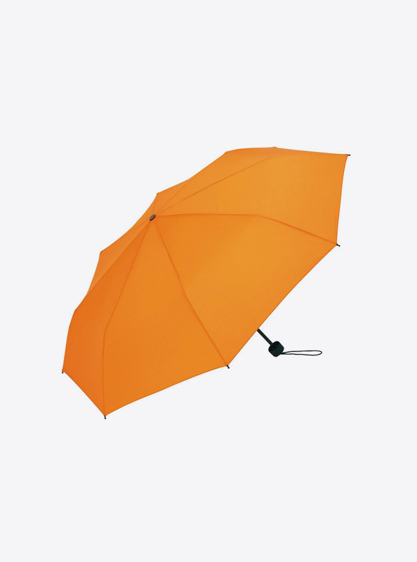 Taschenschirm Bedrucken Mit Logo Fabe Orange