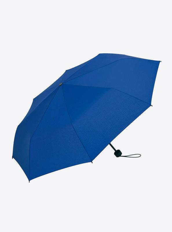Taschenschirm Bedrucken Mit Logo Farbe Euroblau