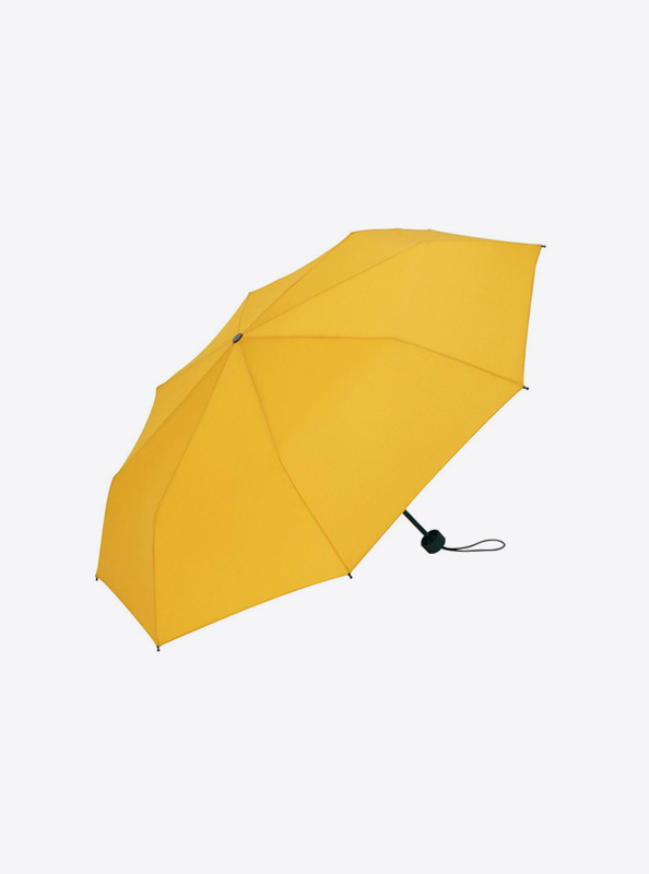Taschenschirm Bedrucken Mit Logo Farbe Gelb