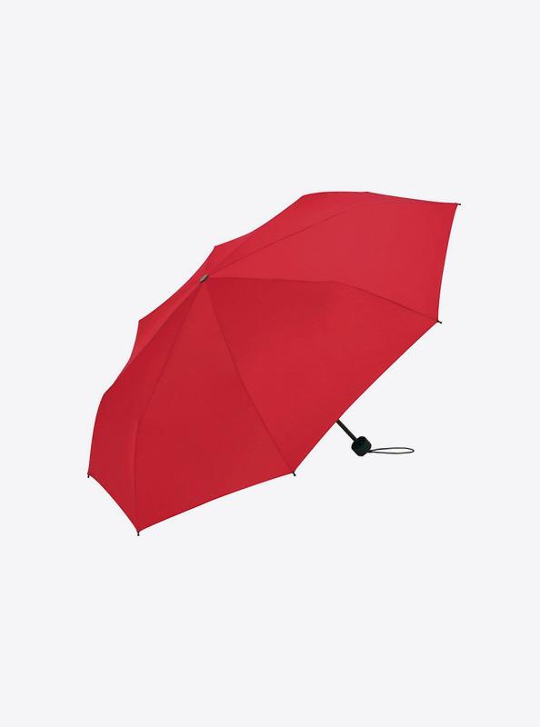 Taschenschirm Bedrucken Mit Logo Farbe Rot