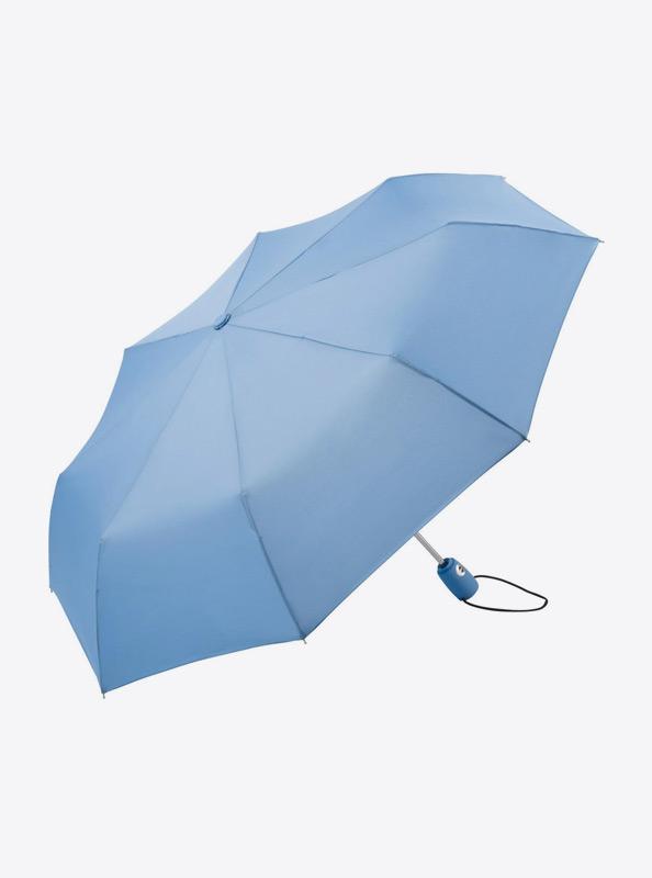 Taschenschirm Standard Bedrucken Mit Logo Farbe Hellblau