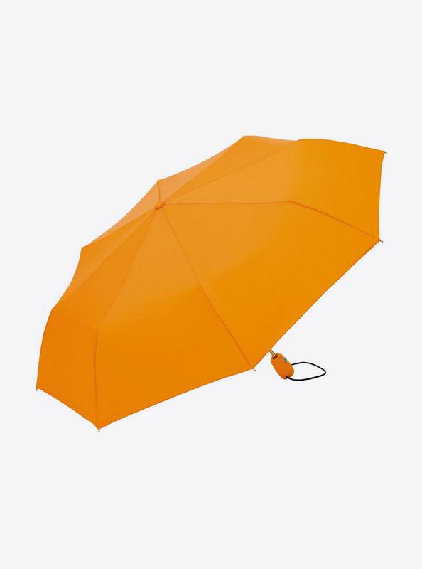 Taschenschirm Standard Bedrucken Mit Logo Farbe Orange