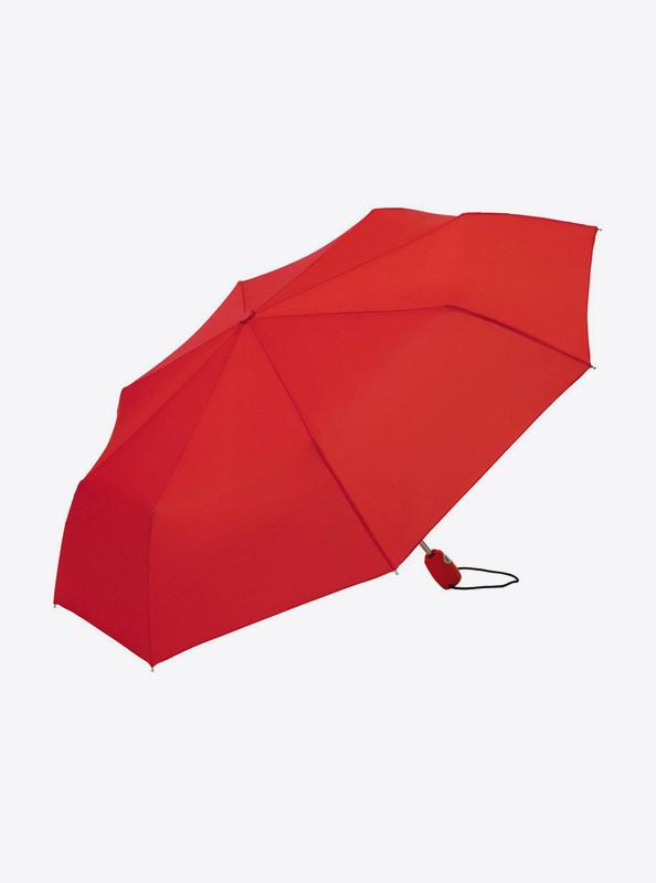 Taschenschirm Standard Bedrucken Mit Logo Farbe Rot