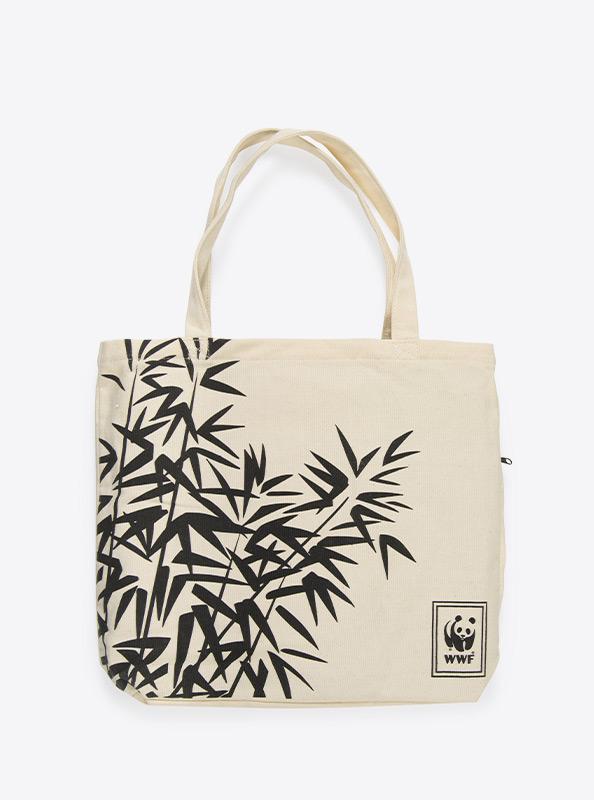Tote Bag Einkaufstasche Schwere Baumwolle Mit Logo Bedrucken Wwf