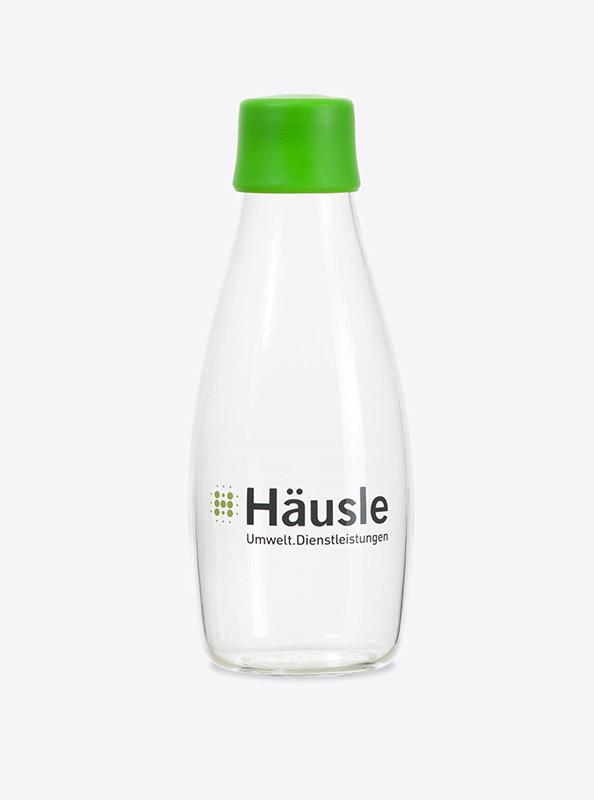 Trinkflasche Glas Retap Mit Logo Bedrucken