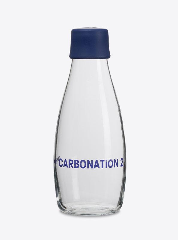 Trinkflasche Retap Mit Logo Graviert Carbonation